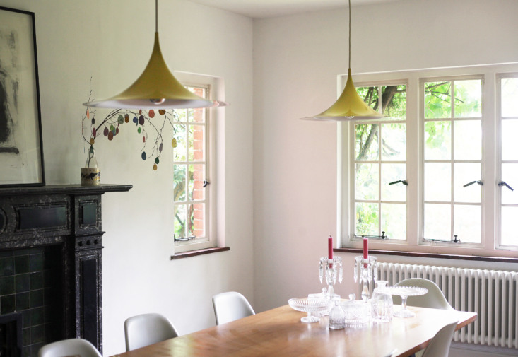 Dining room, Barton Edge sitting room, Winchester, England, Victoria Suffield and Phil Webb.