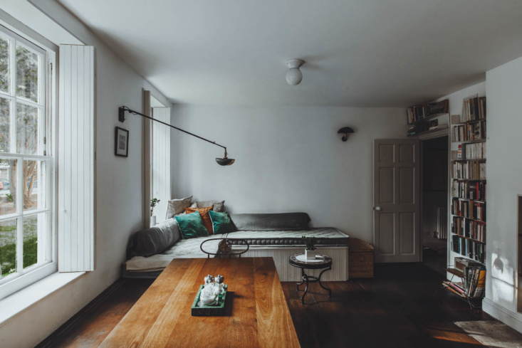 Living Area in Haggerston Flat in London by Red Deer