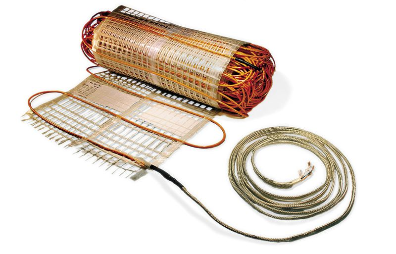 Electric radiant cables that are used to retrofit in single rooms rather than whole homes.