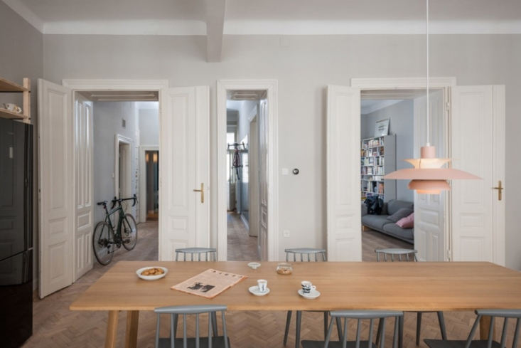 Vienna Apartment AB by Kombinat, Dining Table