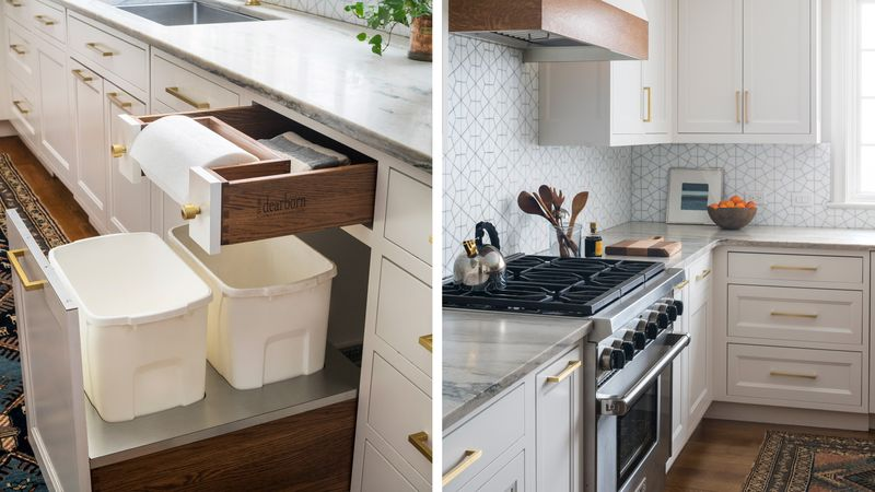 paper towel holder/steam oven, kitchen remodel in Larchmont, NY, Light touch, Nov/Dec 2020